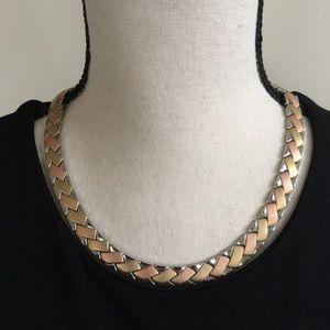 Steel by Design Interlocking Chain Necklace